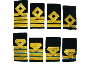 Merchant Navy rank shaft sleeves